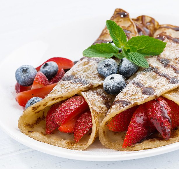 Irish Dairy Mixed Berry Crepe