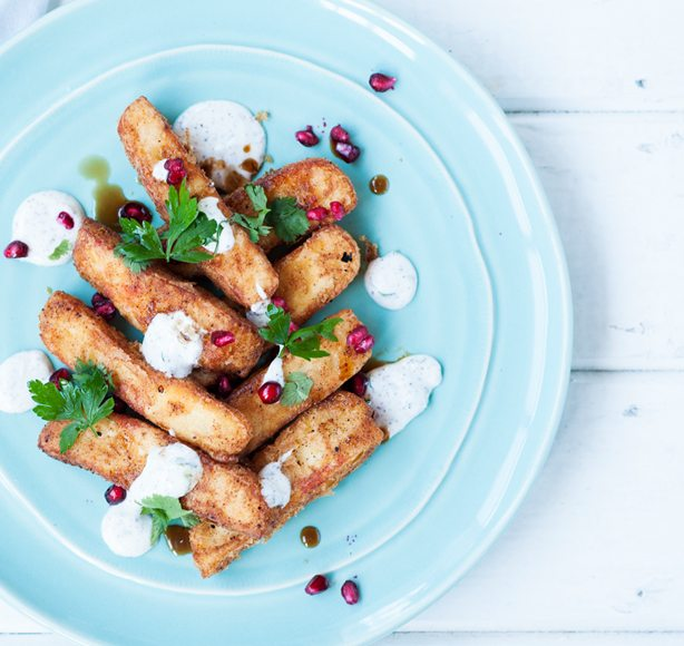 Healthy dishes - Irish Dairy Halloumi Fries