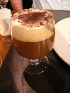 baileys coffee, hot drinks, storm emma