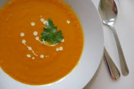 Soup with yogurt