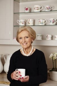 Mary Berry will attend the National Ploughing Championships 2018 with the National Dairy Council NDC to host Afternoon Tea for Dairy to Dairy with MAry Recipe competition